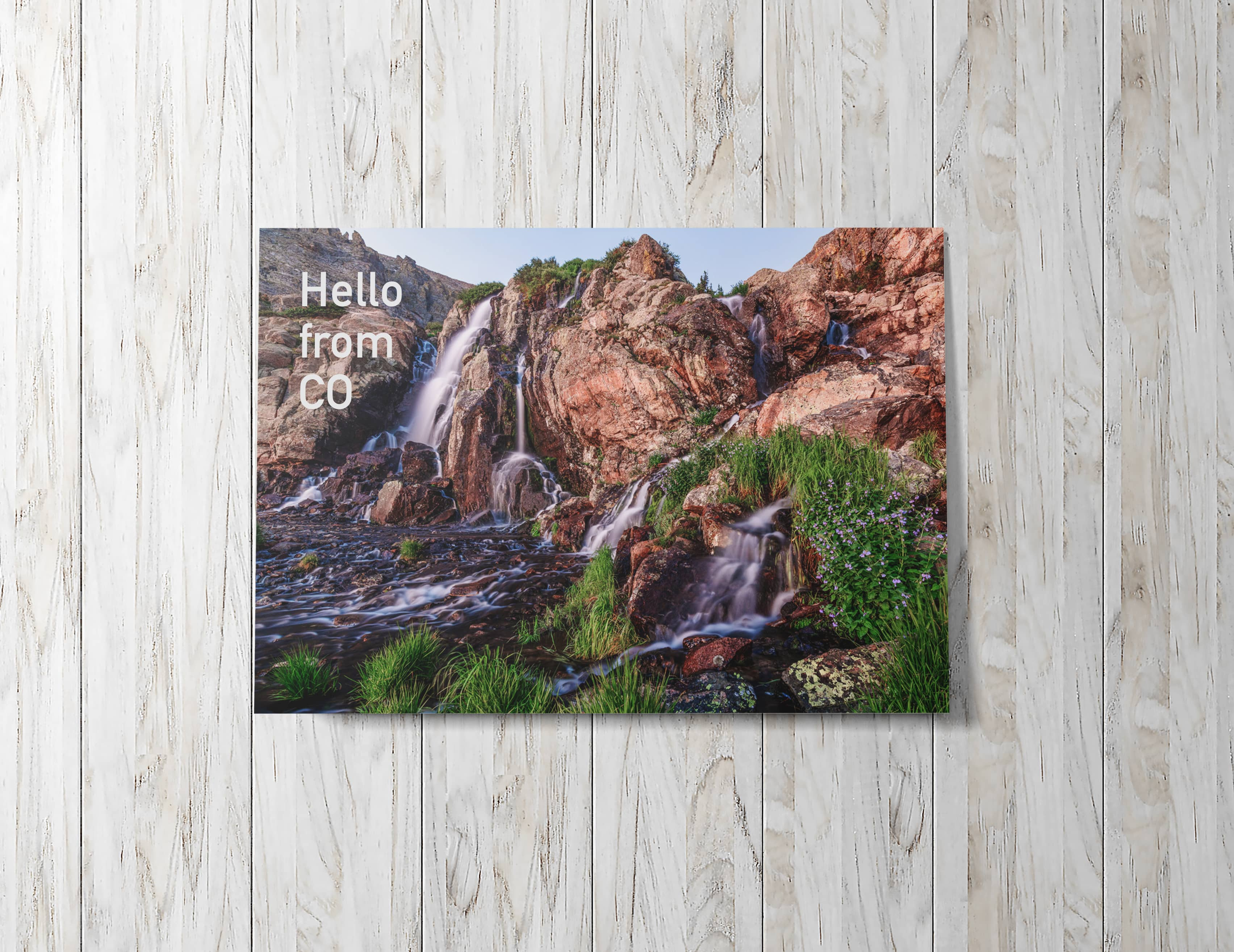 Turn your summer photography into a cutom photo card