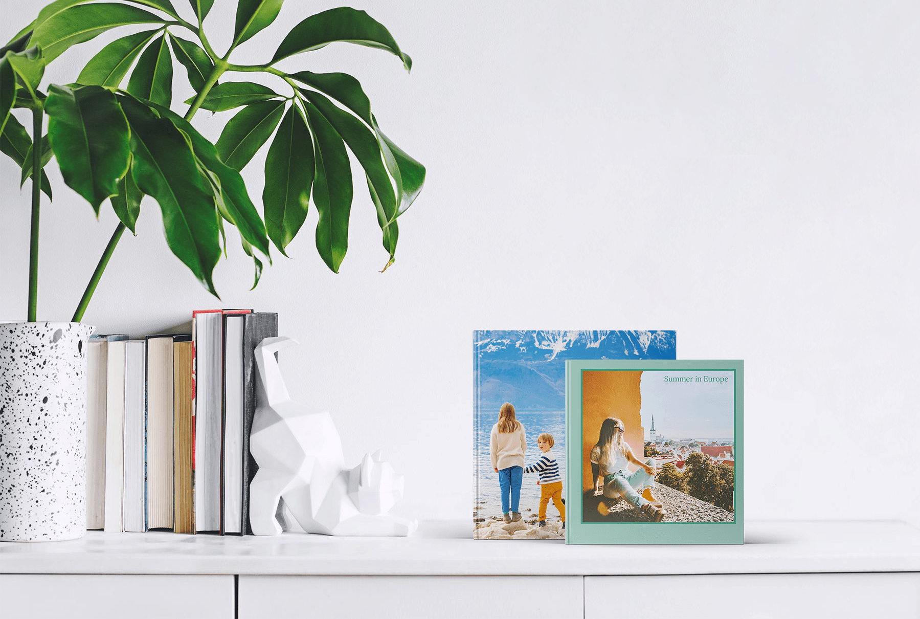 Place your favorite summer moments into a custom printed photo book