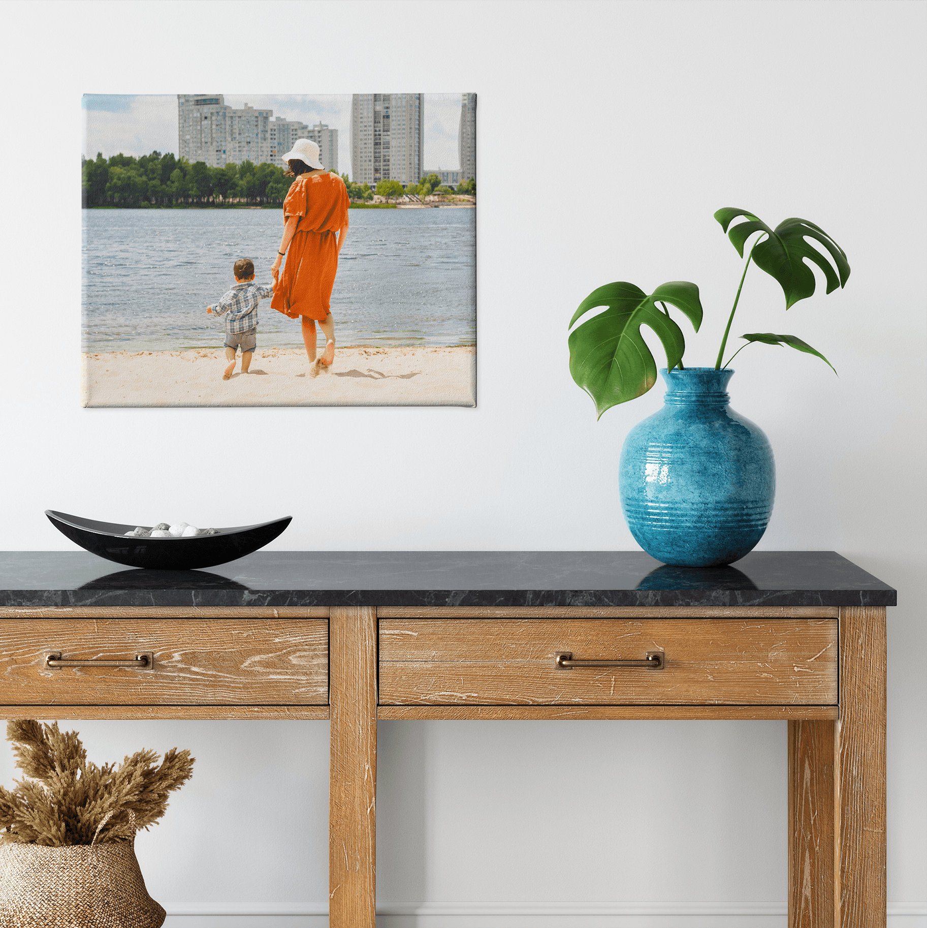 Warm up your space with a canvas photo print from your summer adventures