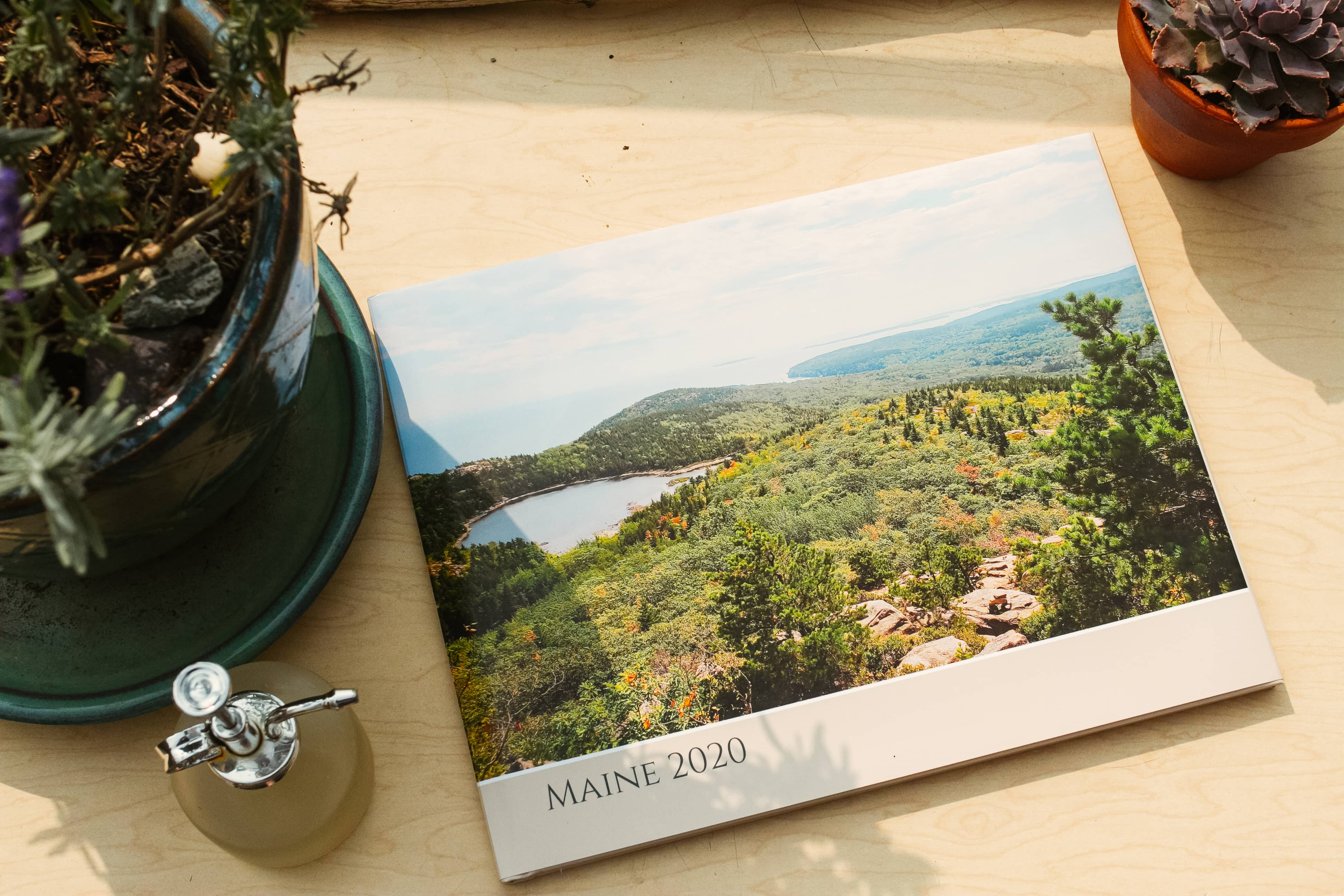 Michele H. creates a travel photobook