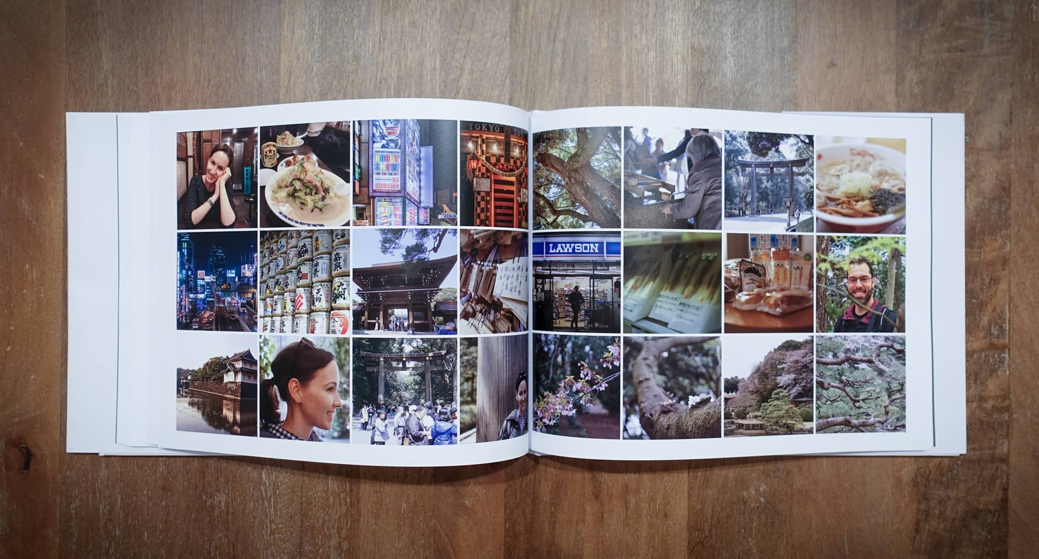 Jim S. makes a photobook of his B roll shots from his travels