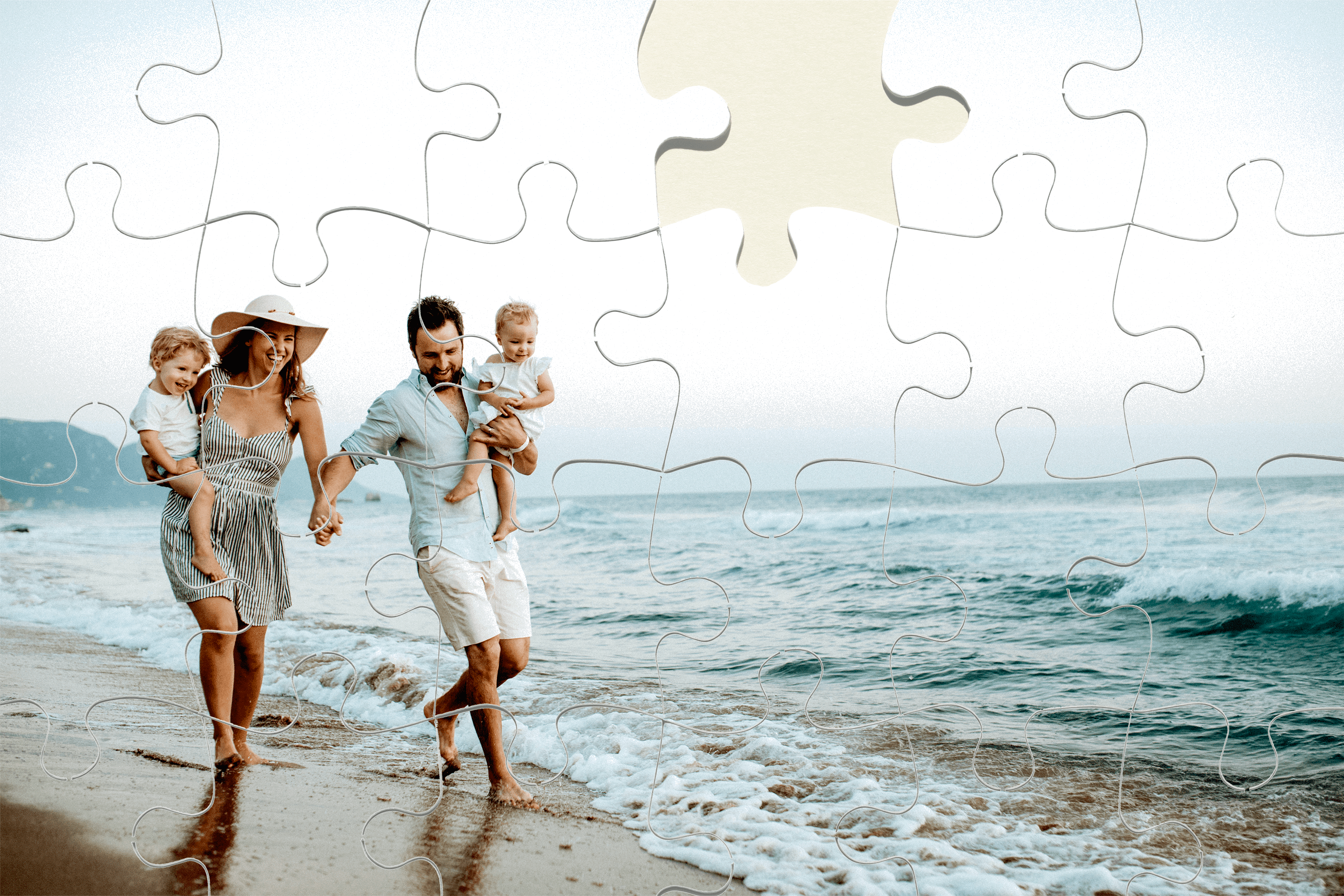 Create a custom photo puzzle to enjoy again and again