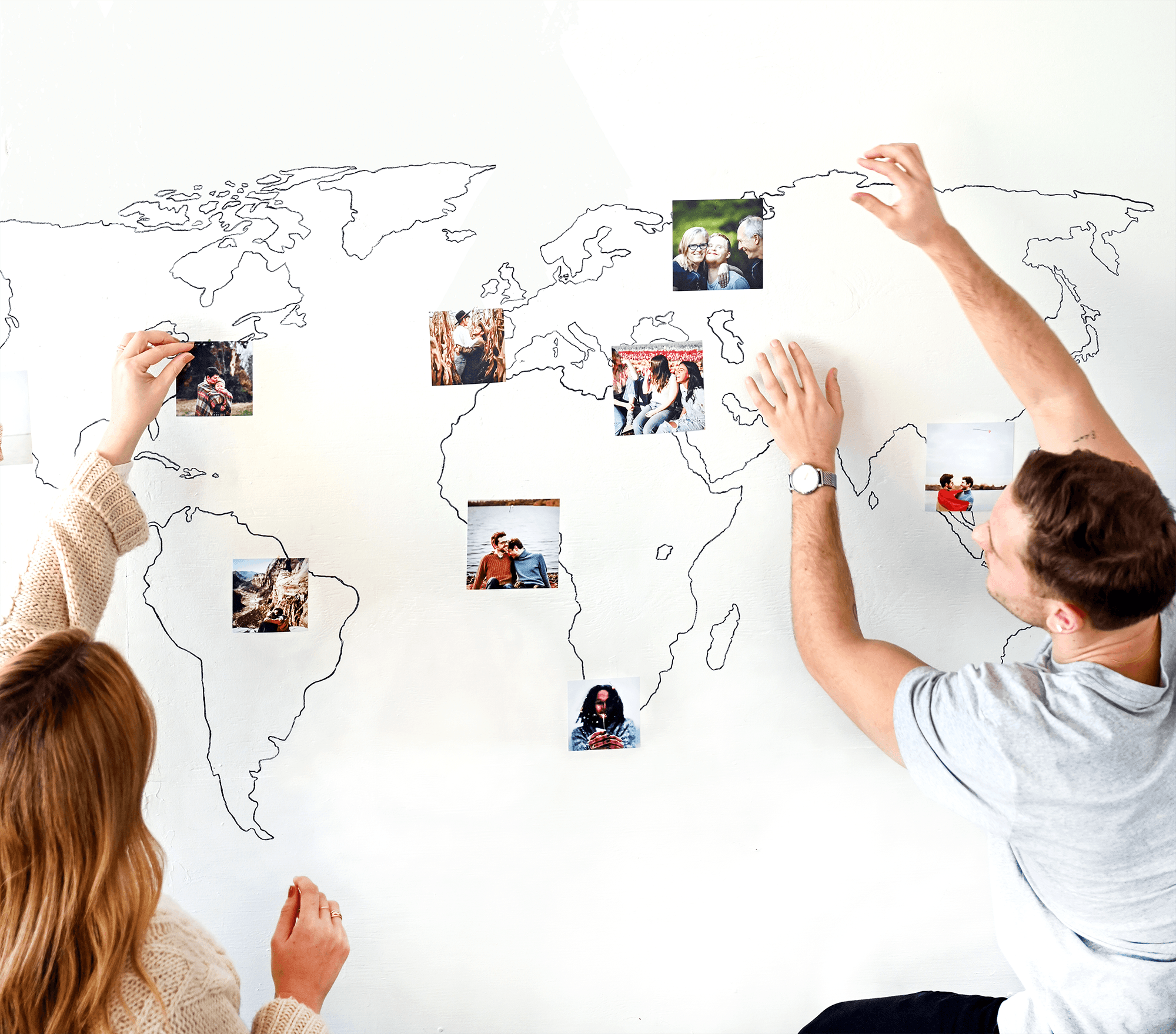 Print your favorite moments in square formats