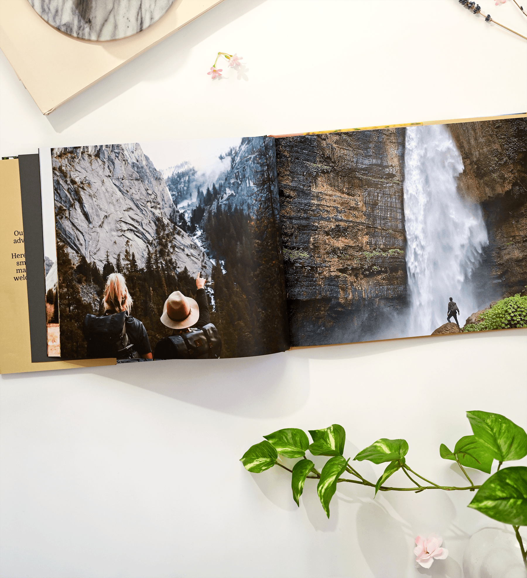 Gift a personal photo book for Valentine's Day this year