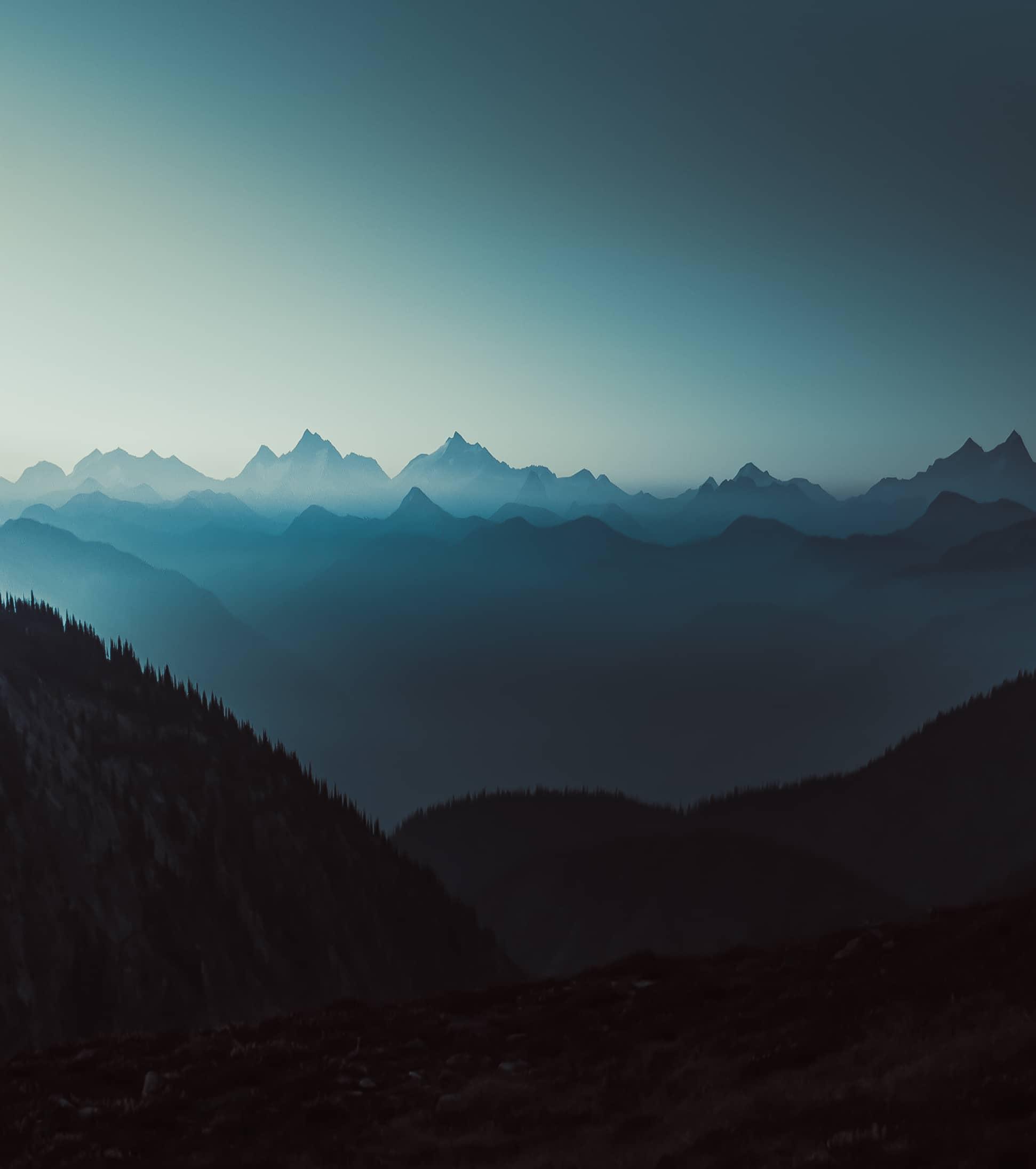 Mountain Layers by Jordan McGarth