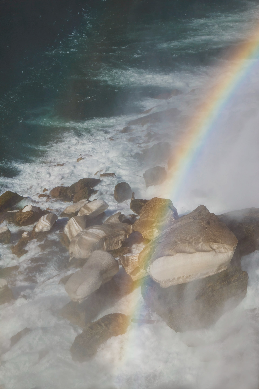 Rainbow at Niagra Falls