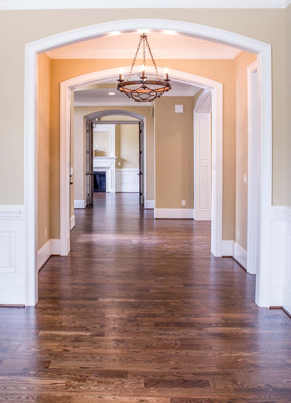 Wood floor cleaning in Couer D'Alene