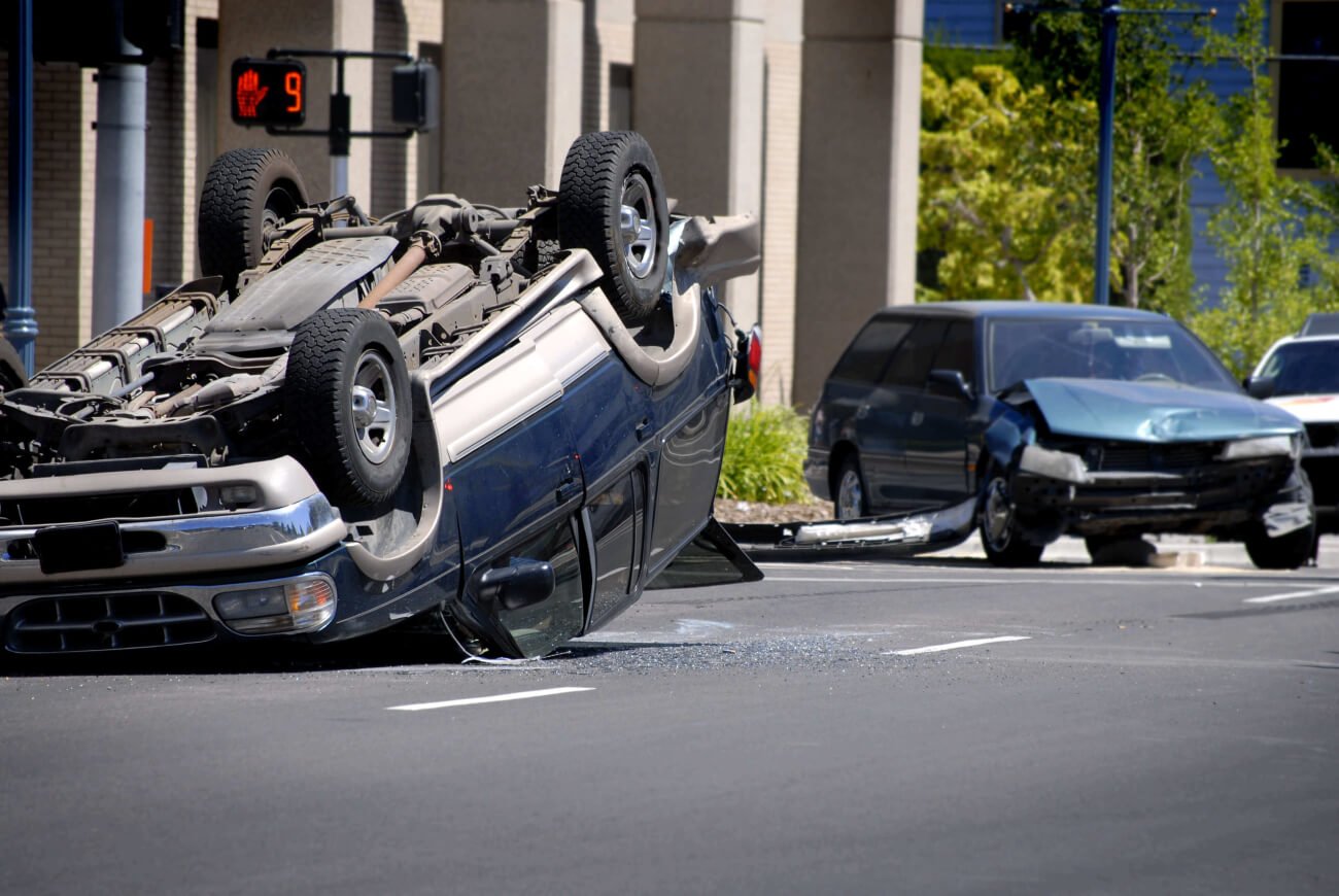Determining the Driver in a Roll-Over Incident