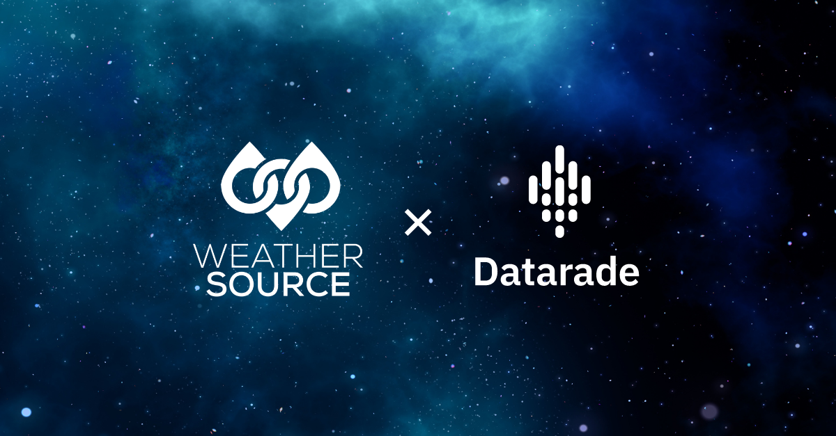 Weather Source joins Datarade to bring hyper-local weather data to the global data marketplace