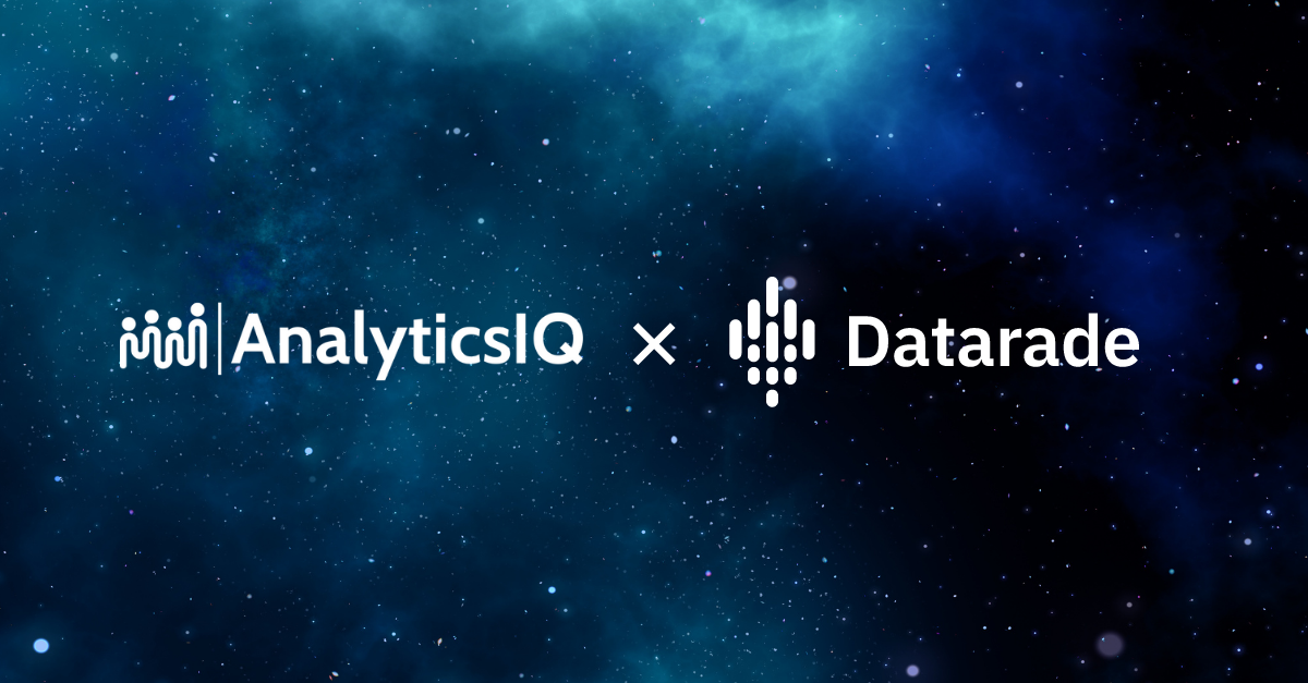 AnalyticsIQ joins Datarade to bring consumer marketing intelligence to the global data marketplace