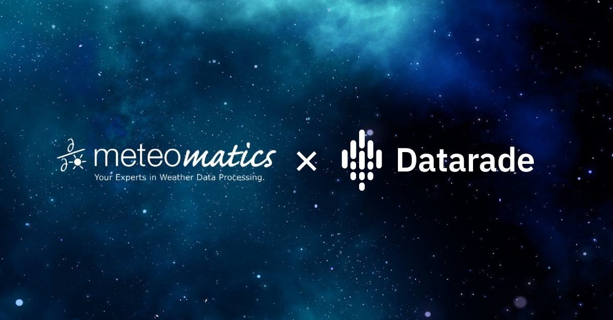 Meteomatics joins Datarade to bring expert weather data to the global data marketplace