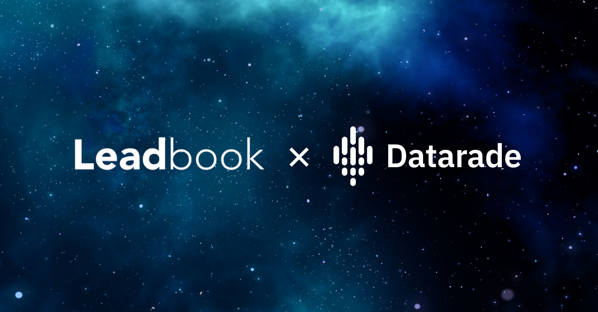 Leadbook joins Datarade to bring international B2B lead generation to the global data marketplace