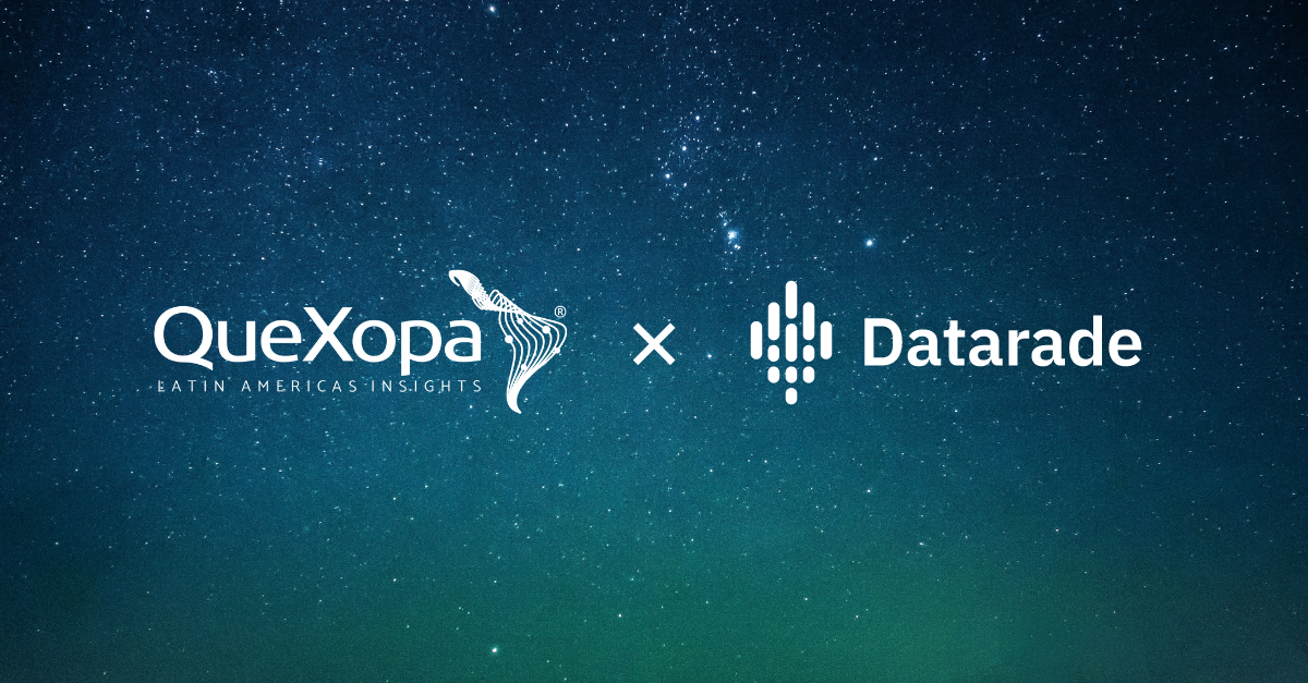 QueXopa and Datarade Partner to Give LATAM-Focused Alternative Data Provider Global Reach