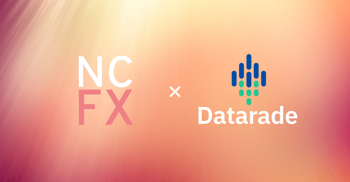 NCFX Partners With Datarade: Independent Forex Data Now Listed On Global Data Marketplace