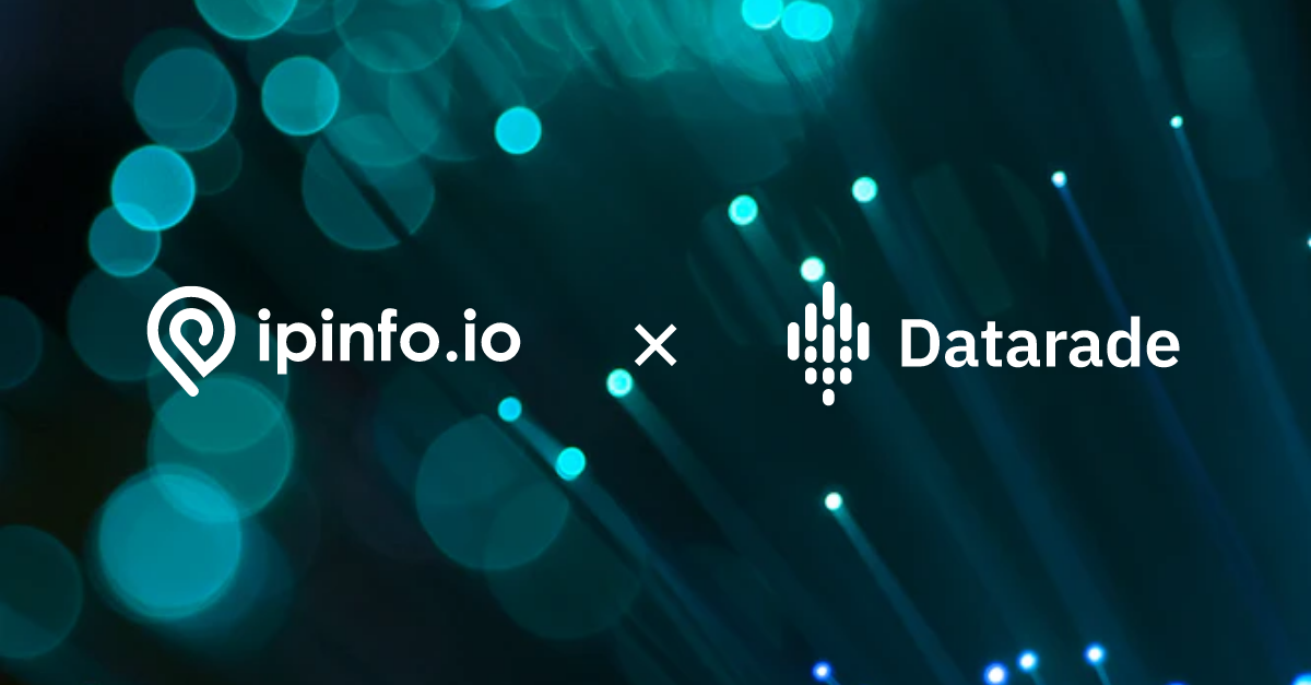 IPinfo Teams Up With Datarade To Connect Users Worldwide With Fastest-Available IP Address Data