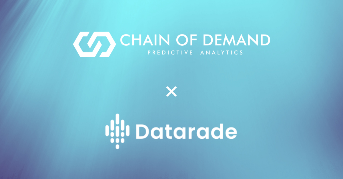 Chain of Demand Partners With Datarade To Bring Retail Analytics Data To Growing User Base