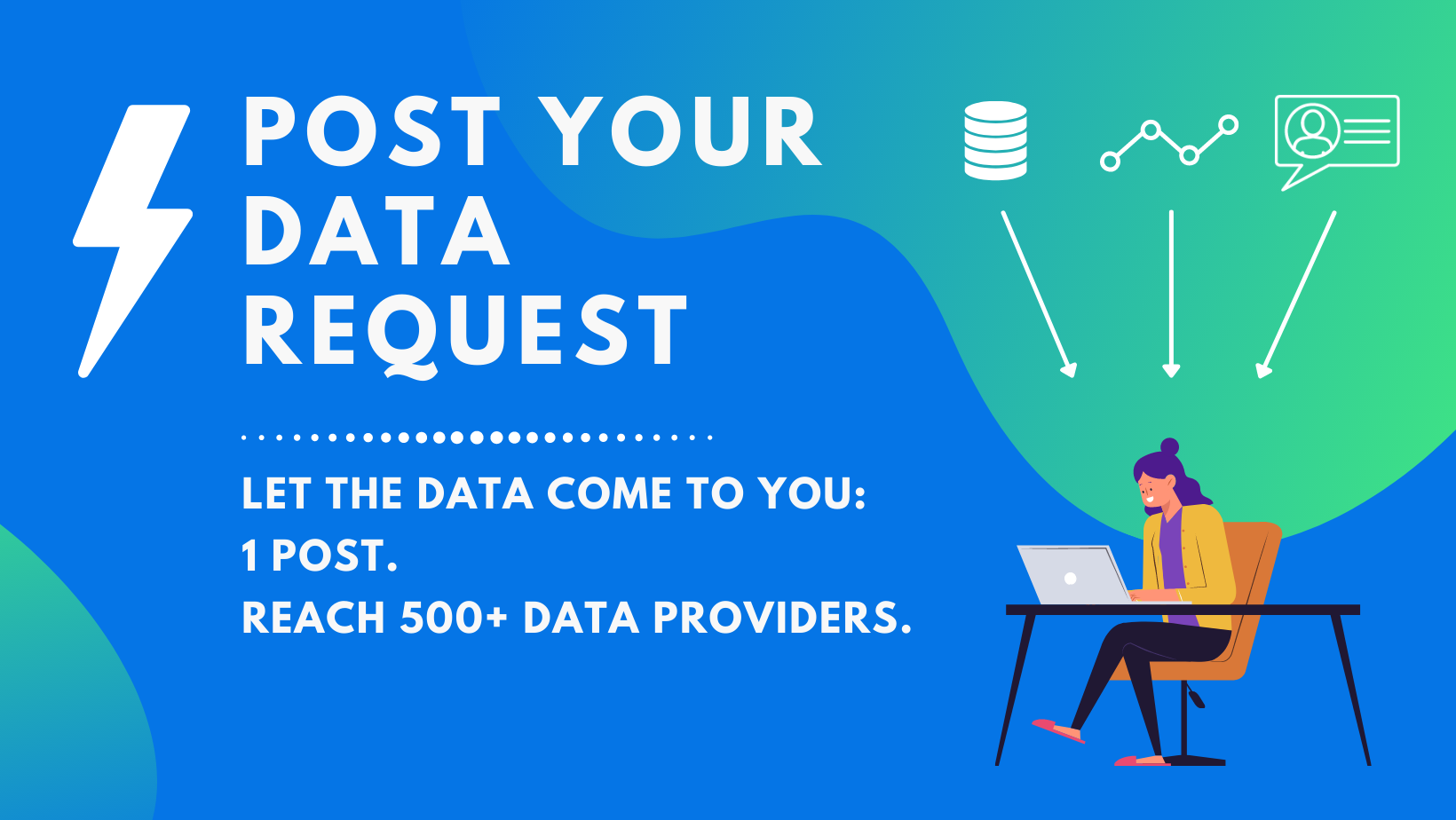 Post Your Data Request: Now Live on Datarade's Data Marketplace