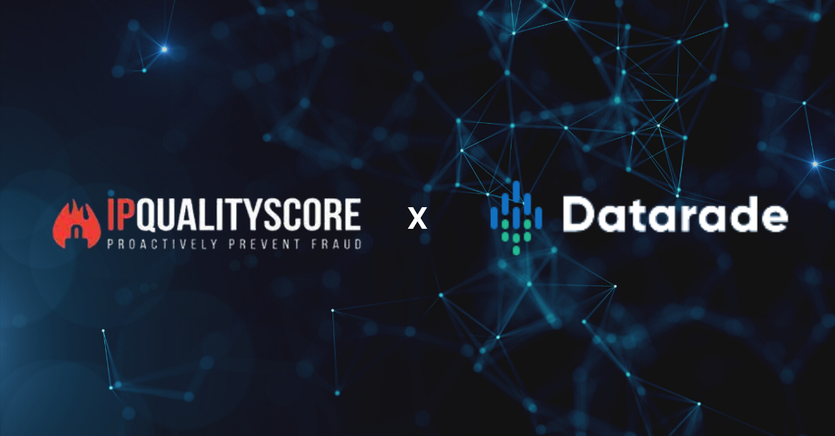 IPQualityScore Partners With Datarade to Kickstart Sales of Industry-Leading Fraud Prevention Datasets & APIs