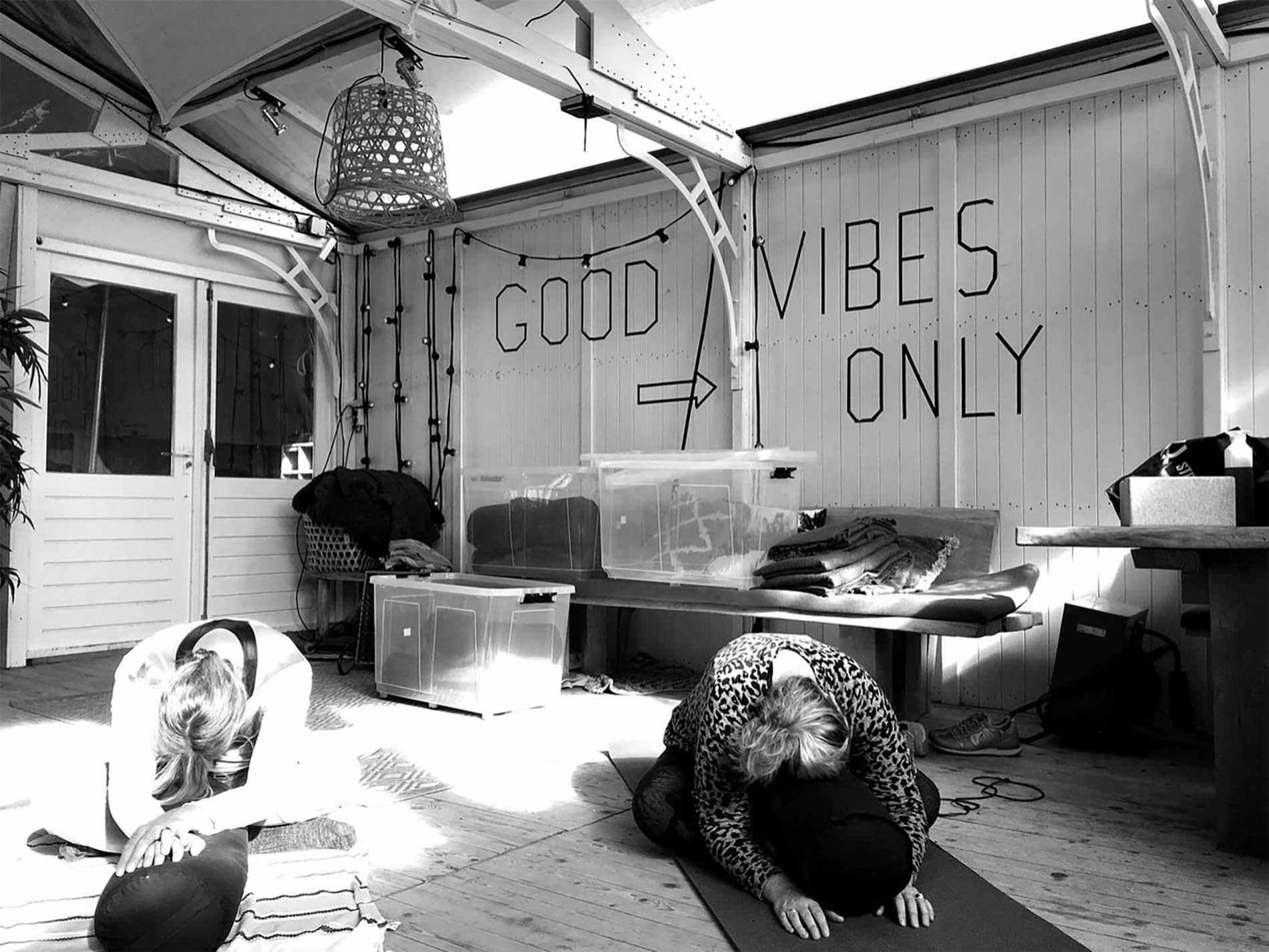 Prive Yoga groepsles