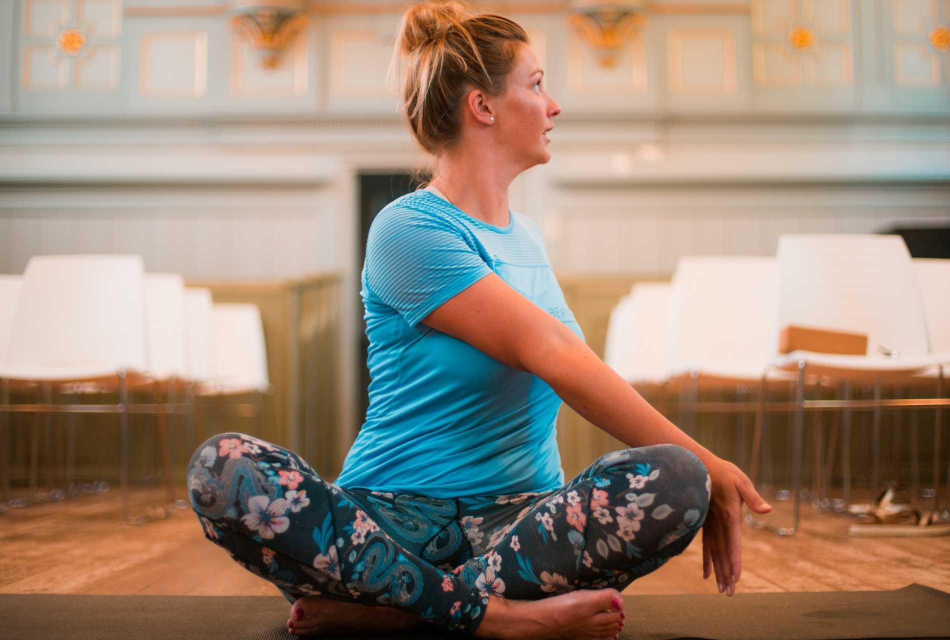 Yin yoga - Twist