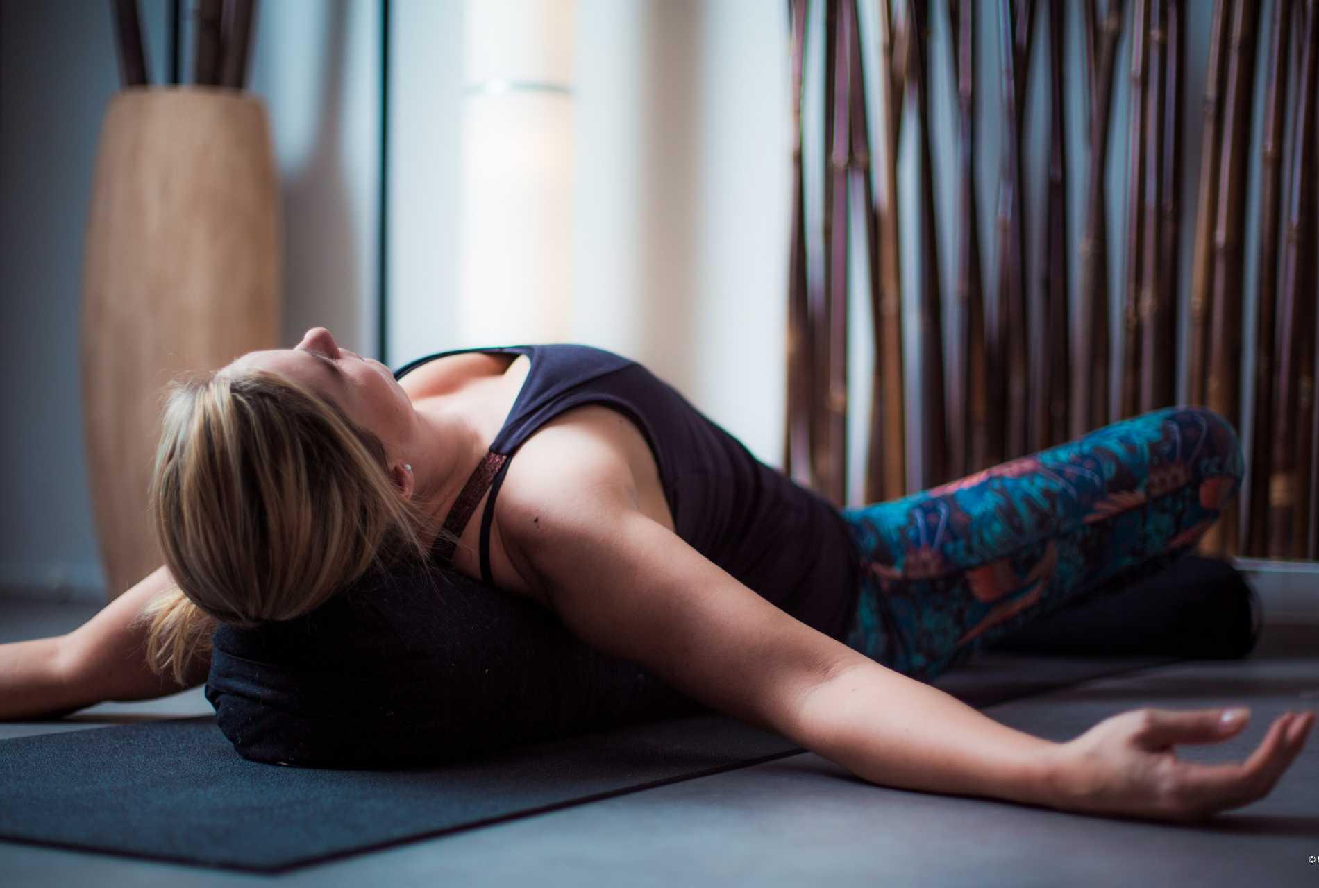 Yin yoga - Restorative pose