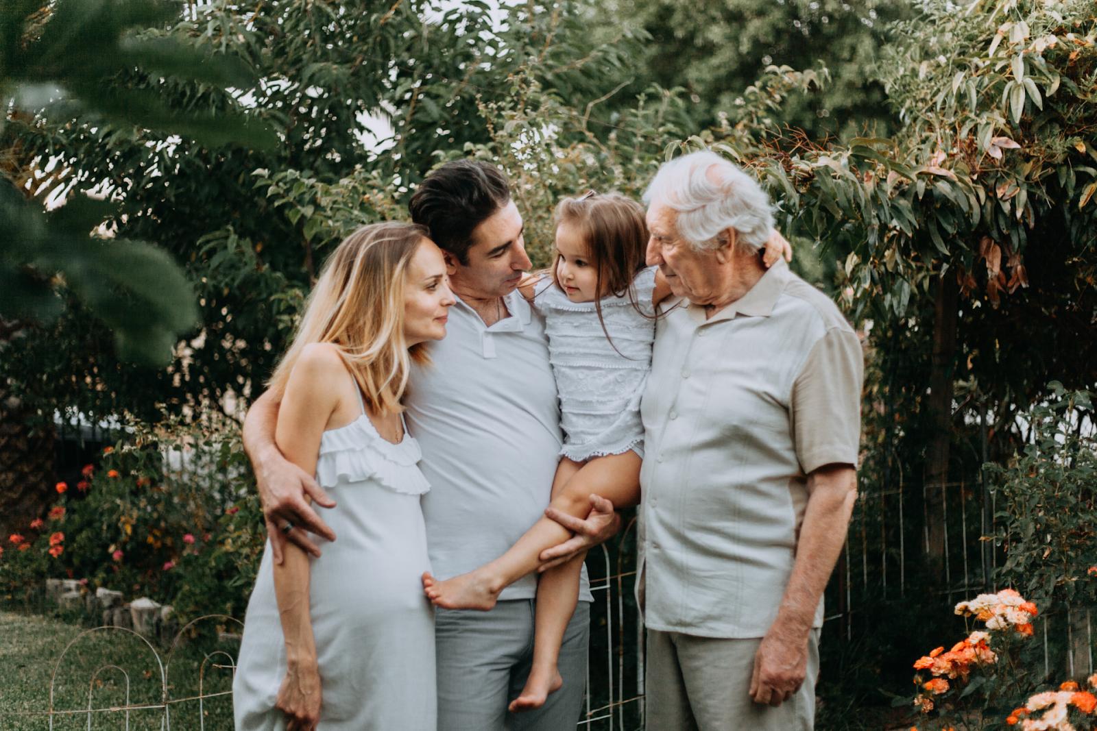 white family