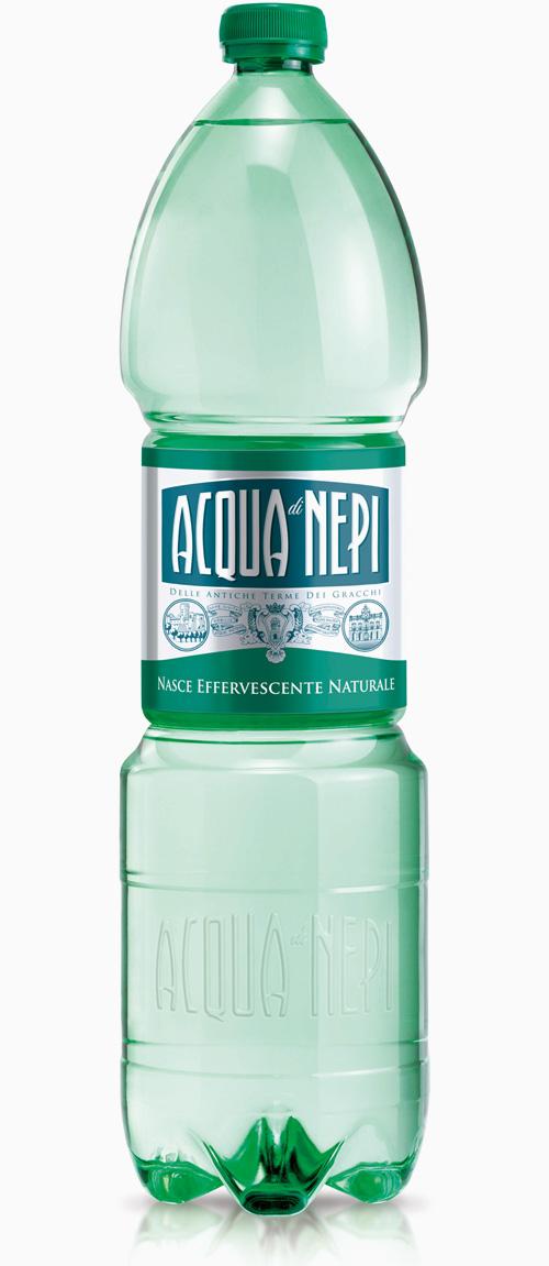 Acqua di Nepi, bottiglia in PET