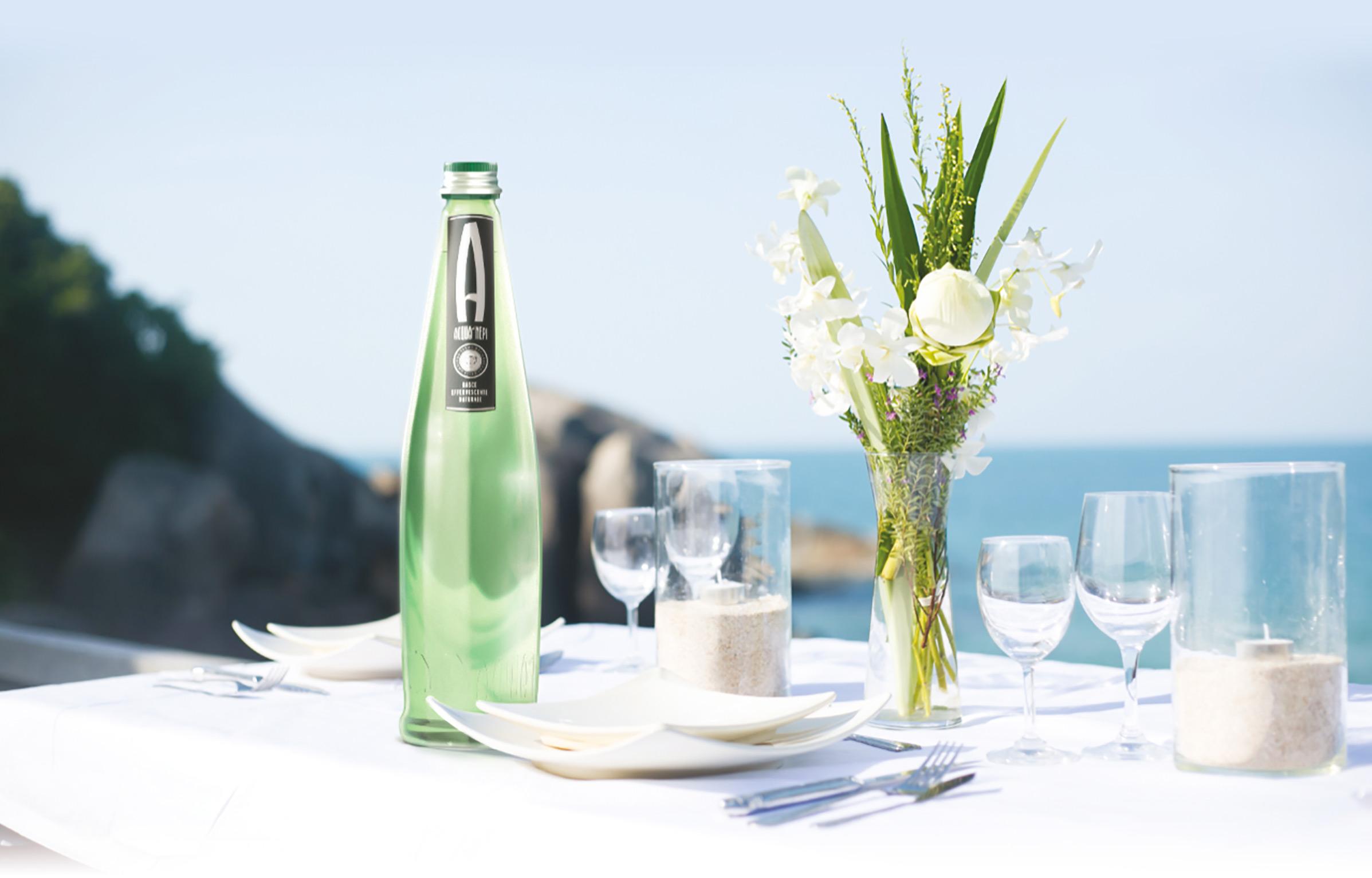 Acqua di Nepi a tavola