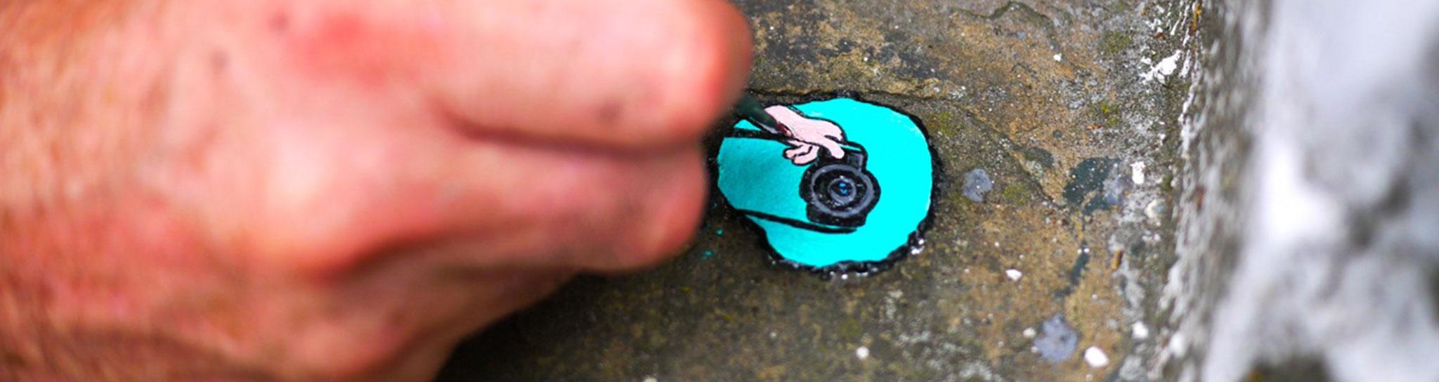 "Ben Wilson: Turning ""ABC"" Gum into ART"
