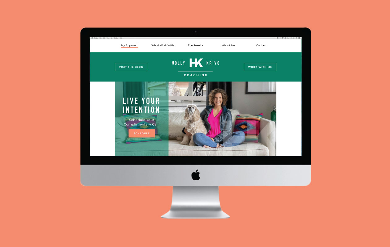DesignGood Holly Krivo Coaching website