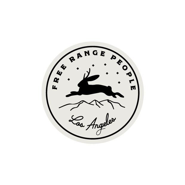 DesignGood Free Range People logo medallion