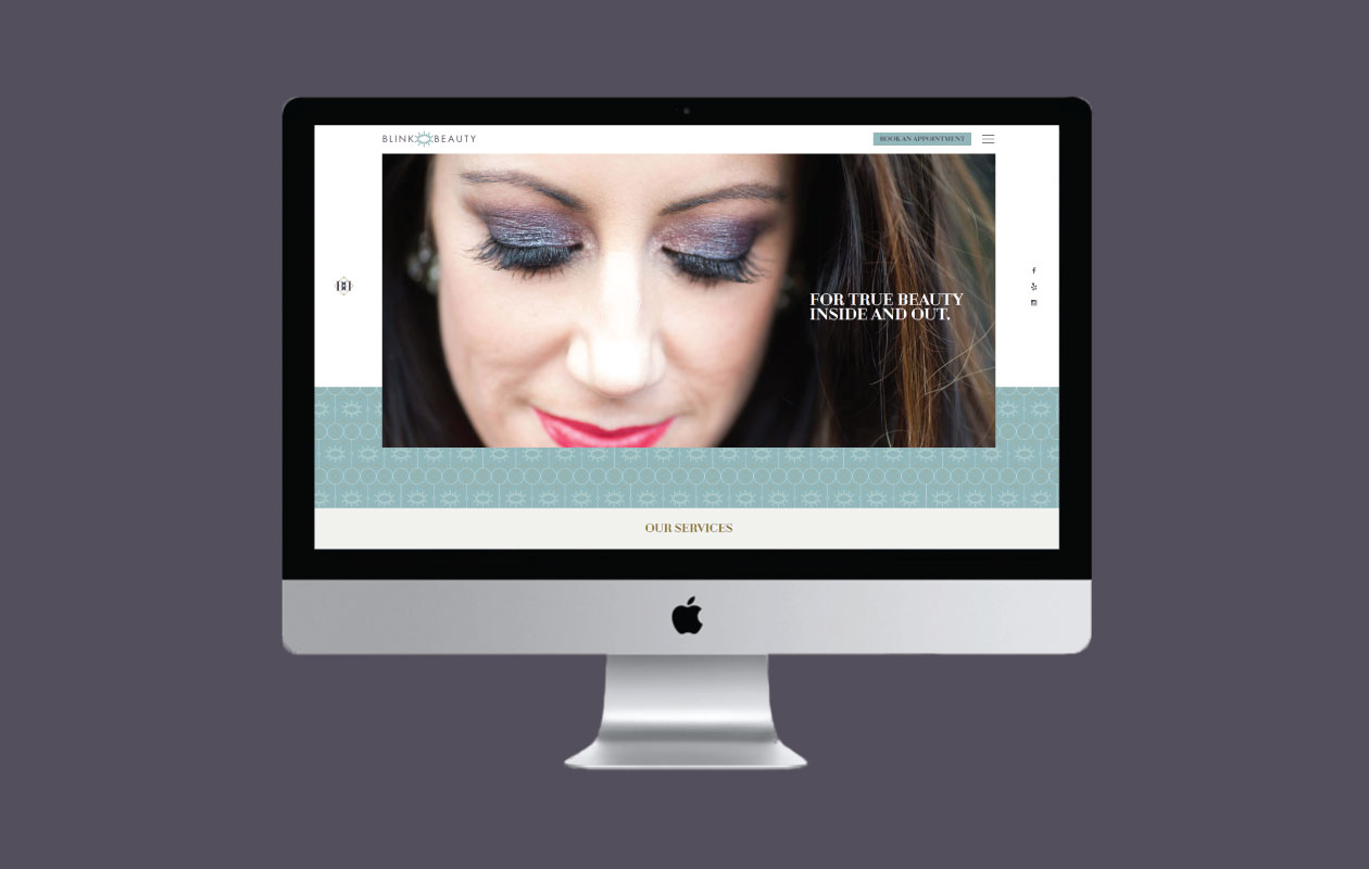 DesignGood Blink Beauty website