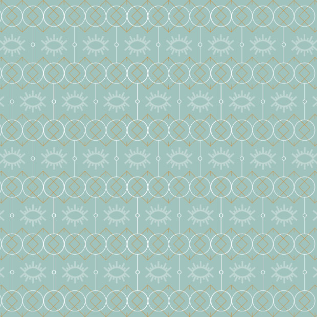 DesignGood Blink Beauty branded pattern design