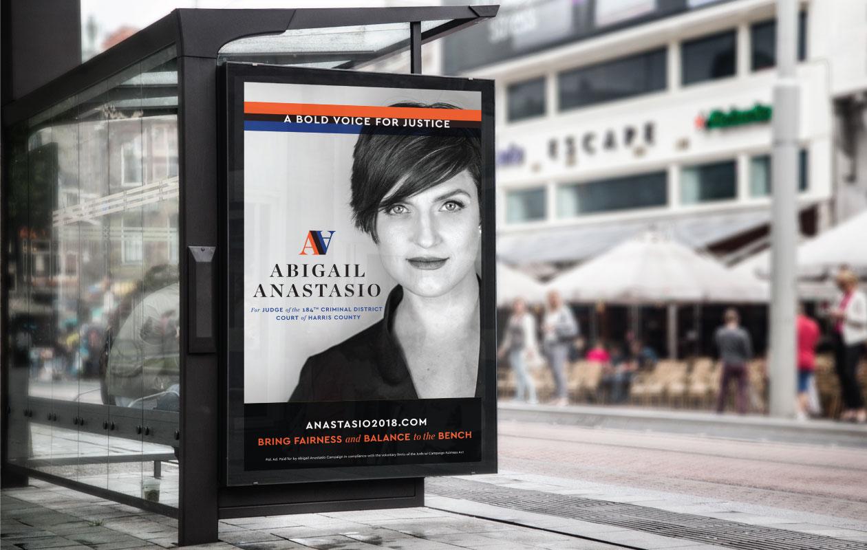 DesignGood Abigail Anastasio campaign advertisement