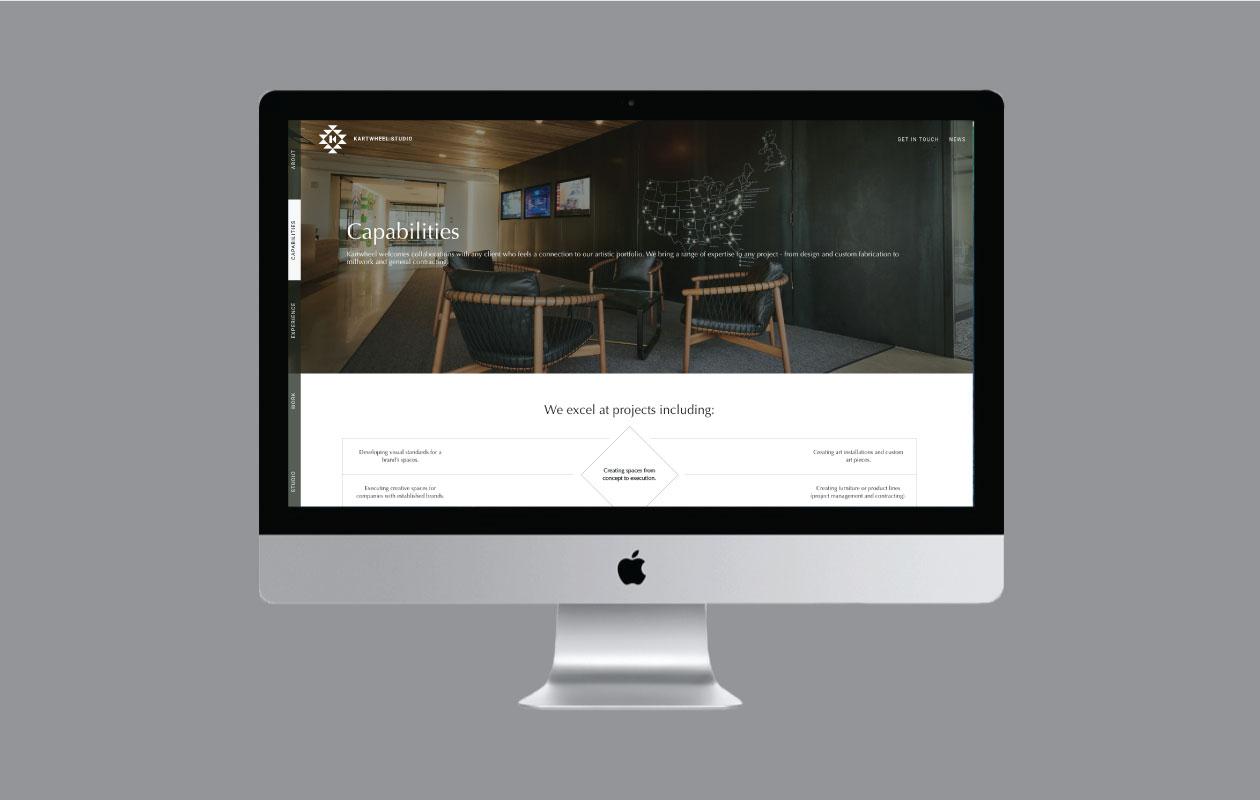 DesignGood Kartwheel website