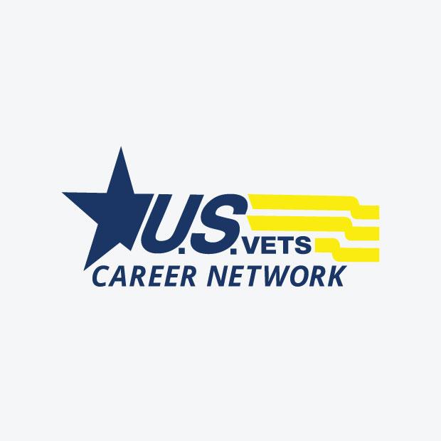 DesignGood U.S.VETS Career Network Logo