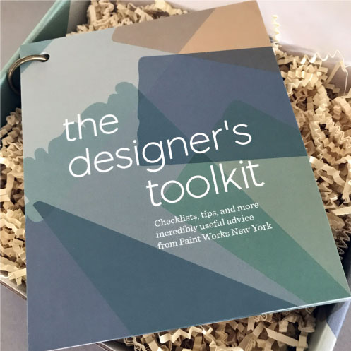 DesignGood designer toolkit print design for Paint Works New York