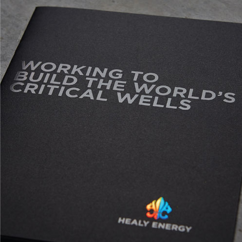 DesignGood graphic design for Healy Energy