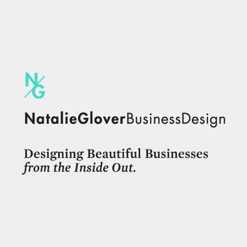 DesignGood graphic design for Natalie Glover