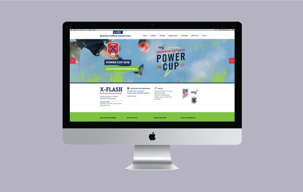 DesignGood web design for HESC