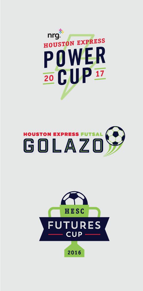 DesignGood tournament logos for HESC