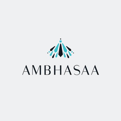 DesignGood logo for Ambhasaa