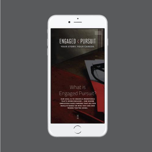 DesignGood web design for Engaged Pursuit