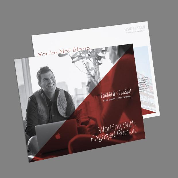 DesignGood graphic design for Engaged Pursuit