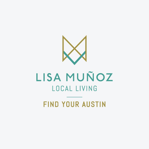 DesignGood logo design for realtor Lisa Muñoz