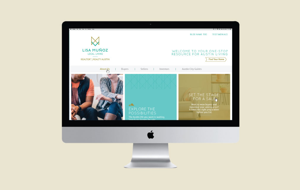 DesignGood web design for realtor Lisa Muñoz