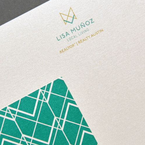 DesignGood print design for realtor Lisa Muñoz