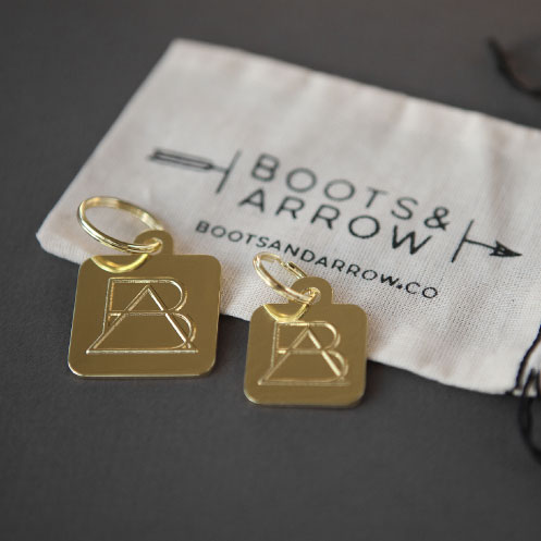 DesignGood tag design for Boots & Arrow