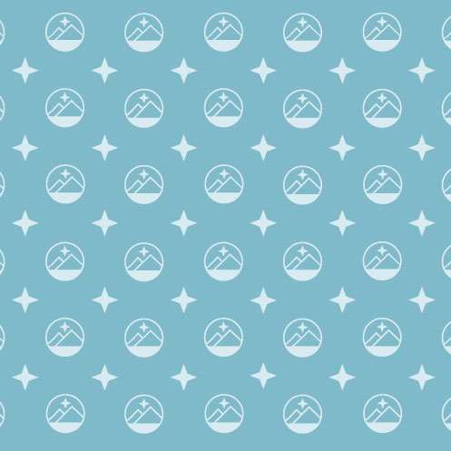 DesignGood pattern design for My World Registry