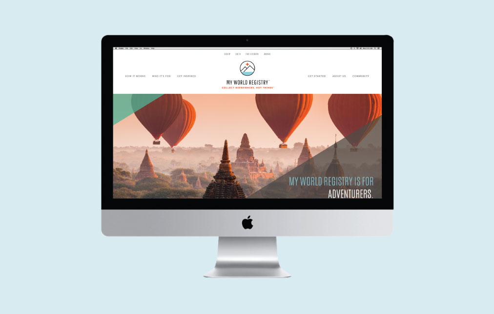 DesignGood web design for My World Registry